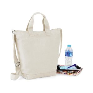 Canvas bag wit