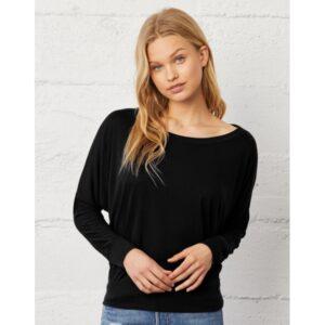 137.06 Flowy LS Off Shoulder T-Shirt-basis
